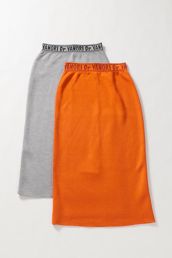 リバーシブル ロングスカート[Reversible long skirt]