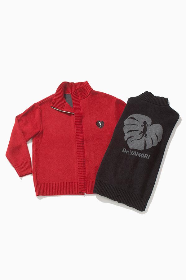 モール ニットブルゾン[Mole knit blouson]