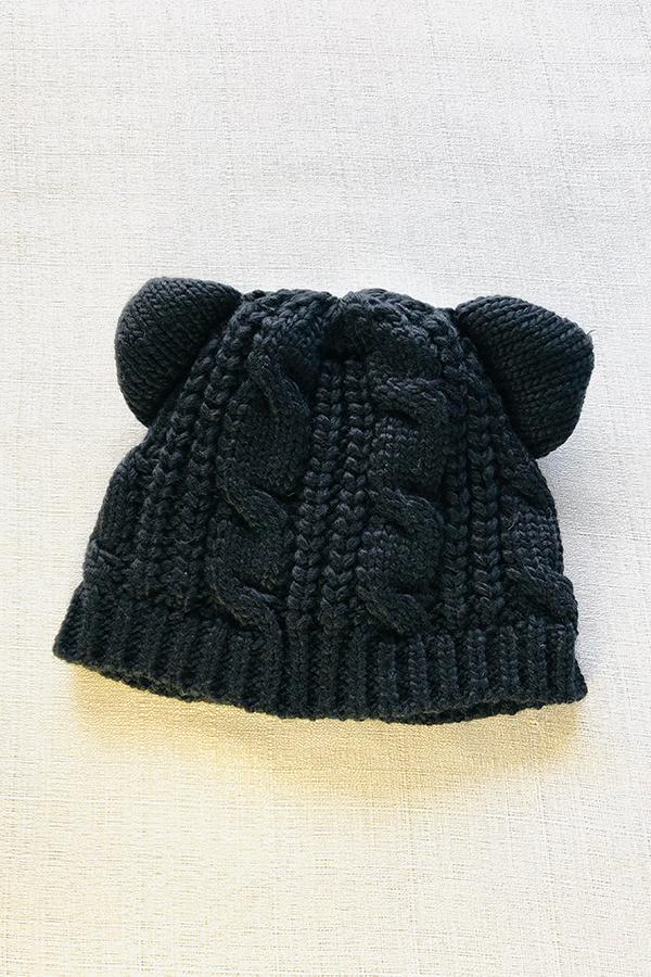 ネコみみニット帽 [Cat ear knit hat]