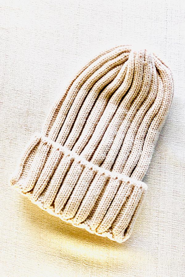 ニット帽 [Knit hat]