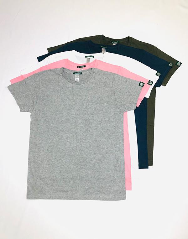 クールネックTシャツ[Round neck shirt]